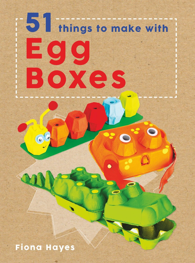 51 Things To Make With Egg Boxes - Jacket