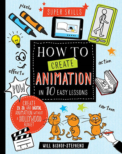 How to Create Animation in 10 easy lessons - Jacket