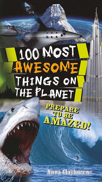 100 Most Awesome Things On The Planet - Jacket