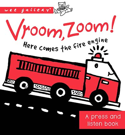 Vroom, Zoom! Here Comes the Fire Engine! - Jacket