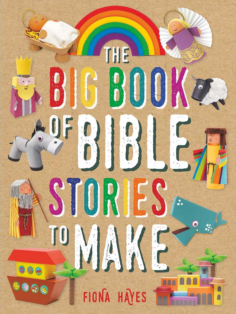 The Big Book of Bible Stories to Make - Jacket