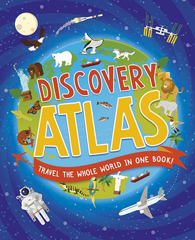 Children's Discovery Atlas - Jacket