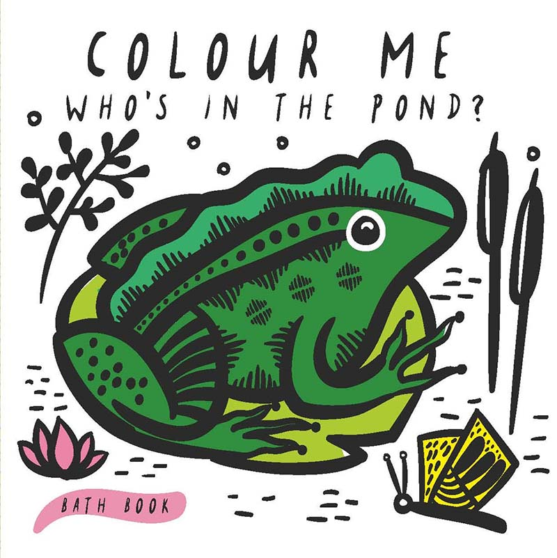 Colour Me: Who's in the Pond? - Jacket