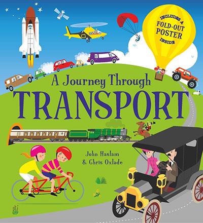 A Journey Through Transportation - Jacket