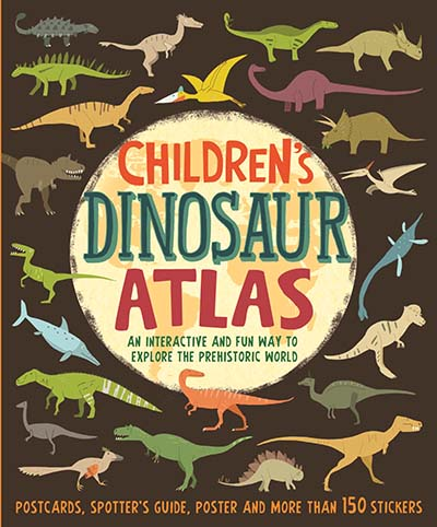 Children's Dinosaur Atlas - Jacket