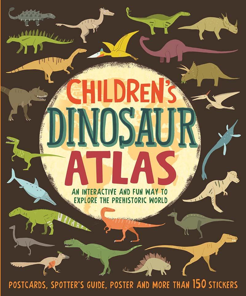 Children's Dinosaur Atlas - Jacket