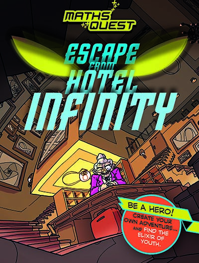 Maths Quest: Escape from Hotel Infinity - Jacket
