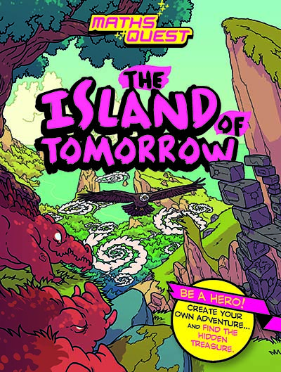 Maths Quest: The Island of Tomorrow - Jacket