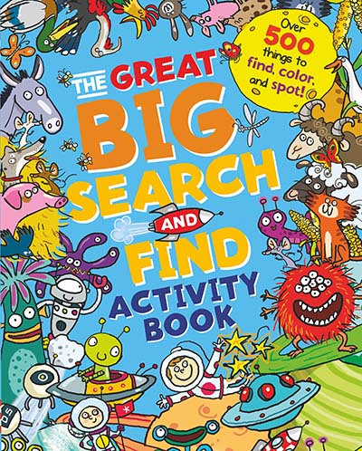The Great Big Search and Find Activity Book - Jacket