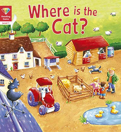 Reading Gems: Where is the Cat? (Level 1) - Jacket