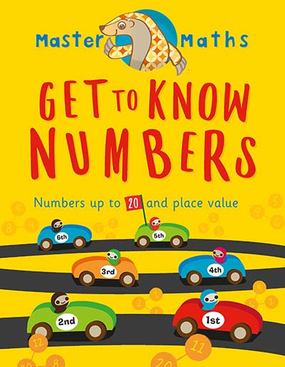 Master Maths Book 1: Get to Know Numbers - Jacket