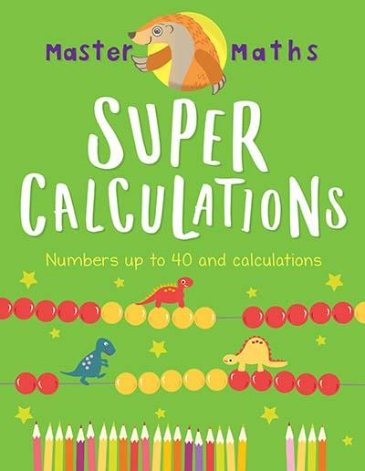 Master Maths Book 2: Super Calculations - Jacket