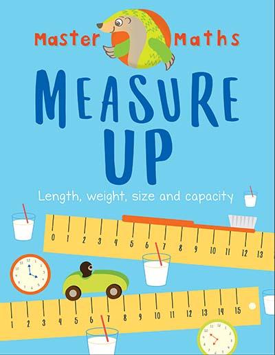 Master Maths Book 3: Measure Up - Jacket