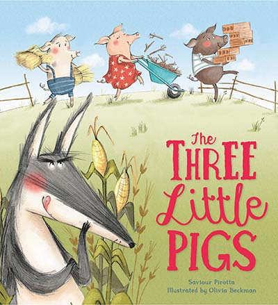 Storytime Classics: The Three Little Pigs - Jacket
