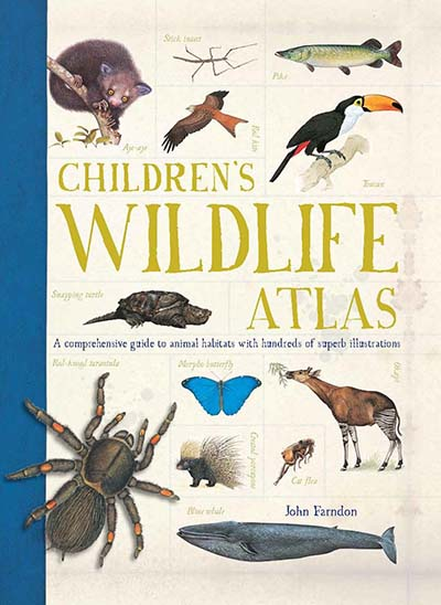 Children's Wildlife Atlas - Jacket