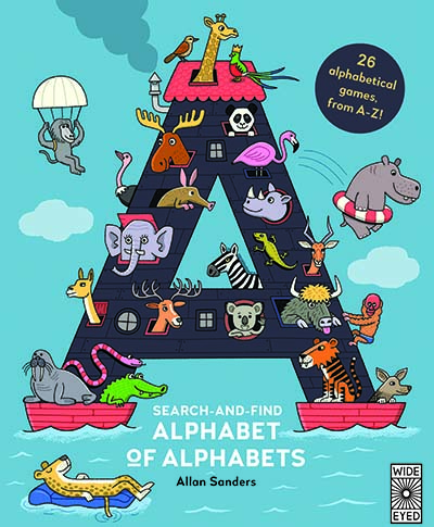 Search and Find Alphabet of Alphabets - Jacket