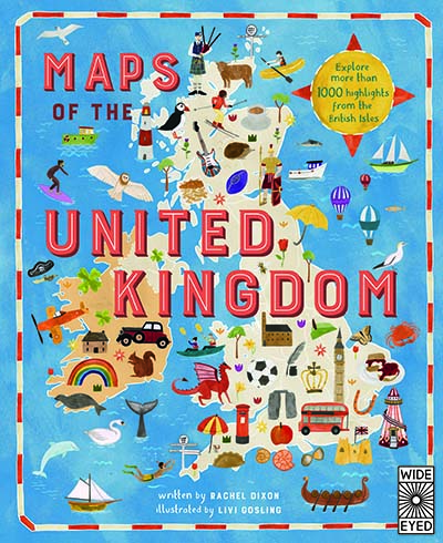Maps of the United Kingdom - Jacket