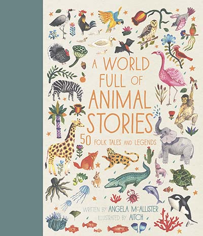 A World Full of Animal Stories - Jacket