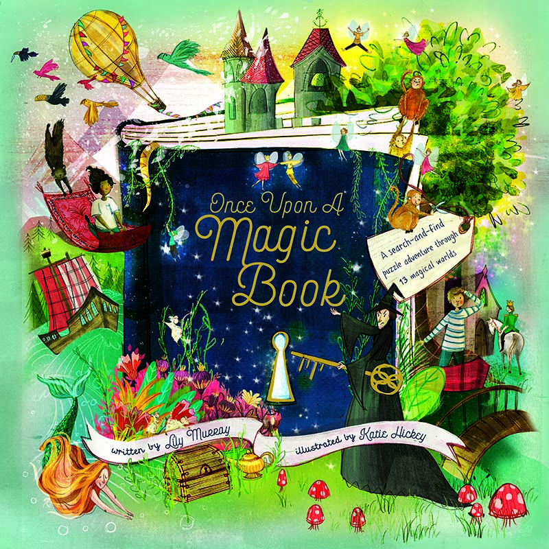 Once Upon a Magic Book - Jacket