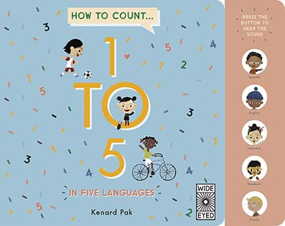 How to Count 1 to 5 in Five Languages - Jacket