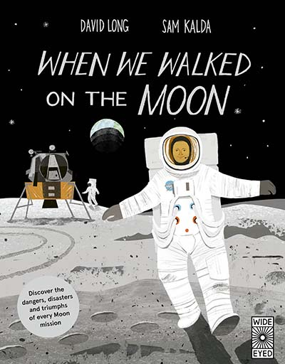 When We Walked on the Moon - Jacket