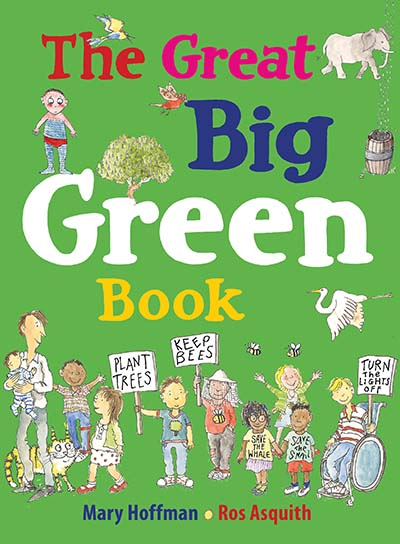 The  Great Big Green Book - Jacket