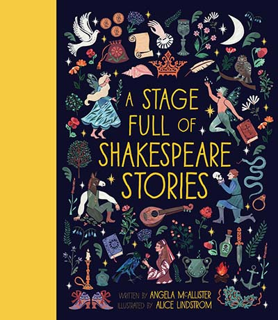 A Stage Full of Shakespeare Stories - Jacket