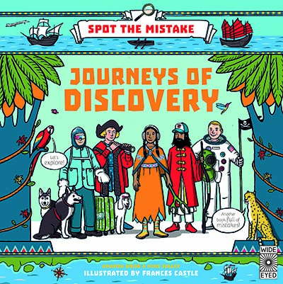 Spot the Mistake: Journeys of Discovery - Jacket