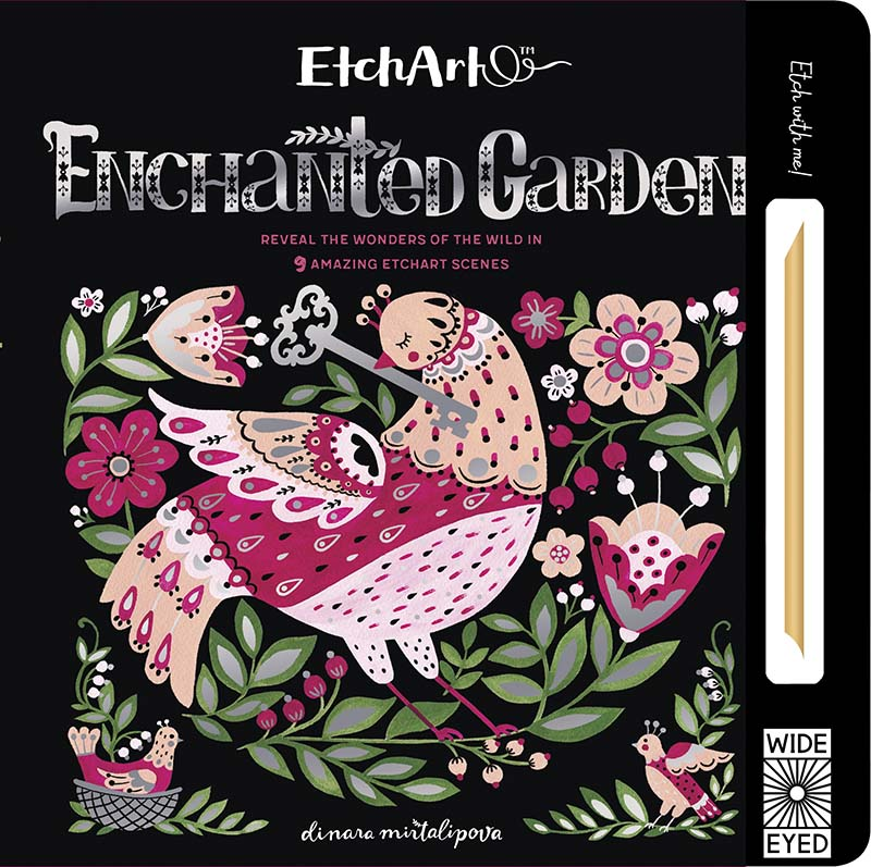 EtchArt: Enchanted Garden - Jacket