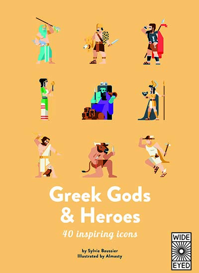 40 Inspiring Icons: Greek Gods and Heroes - Jacket