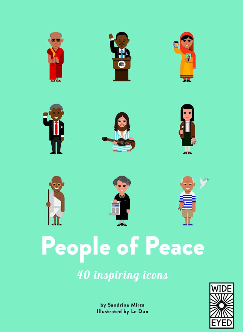 40 Inspiring Icons: People of Peace - Jacket