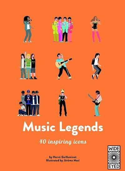 40 Inspiring Icons: Music Legends - Jacket
