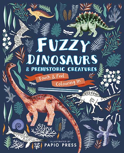 Fuzzy Dinosaurs and Prehistoric Creatures - Jacket