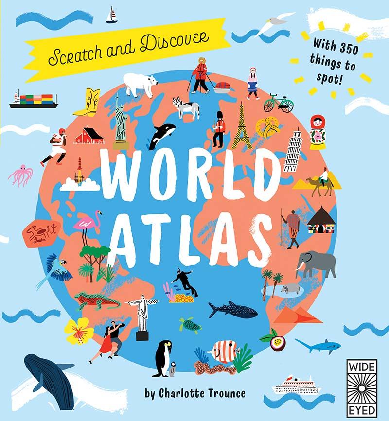 Scratch and Learn World Atlas - Jacket