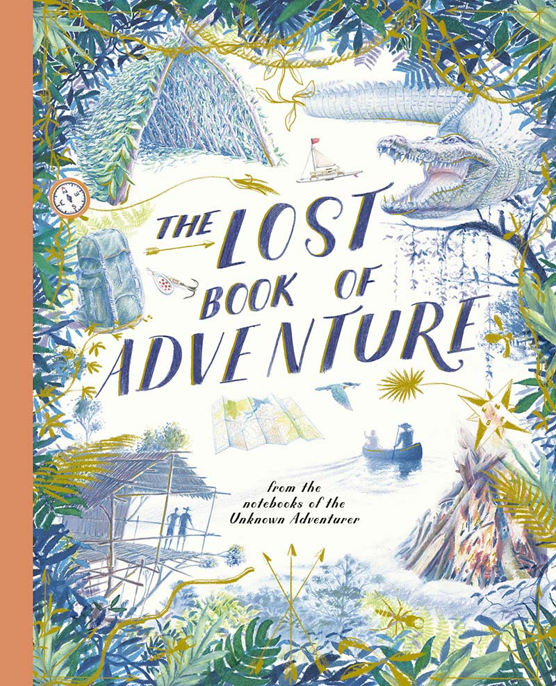 The Lost Book of Adventure - Jacket
