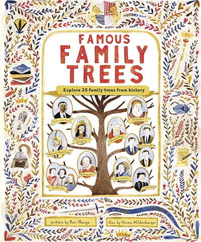 The Famous Family Trees - Jacket