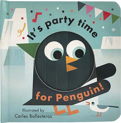It's Party Time for Penguin - Jacket