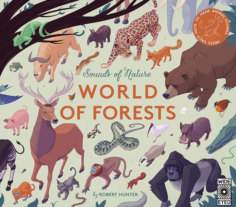 Sounds of Nature: World of Forests - Jacket