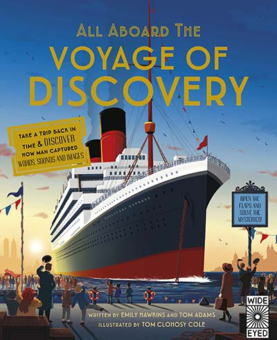 All Aboard the Voyage of Discovery - Jacket