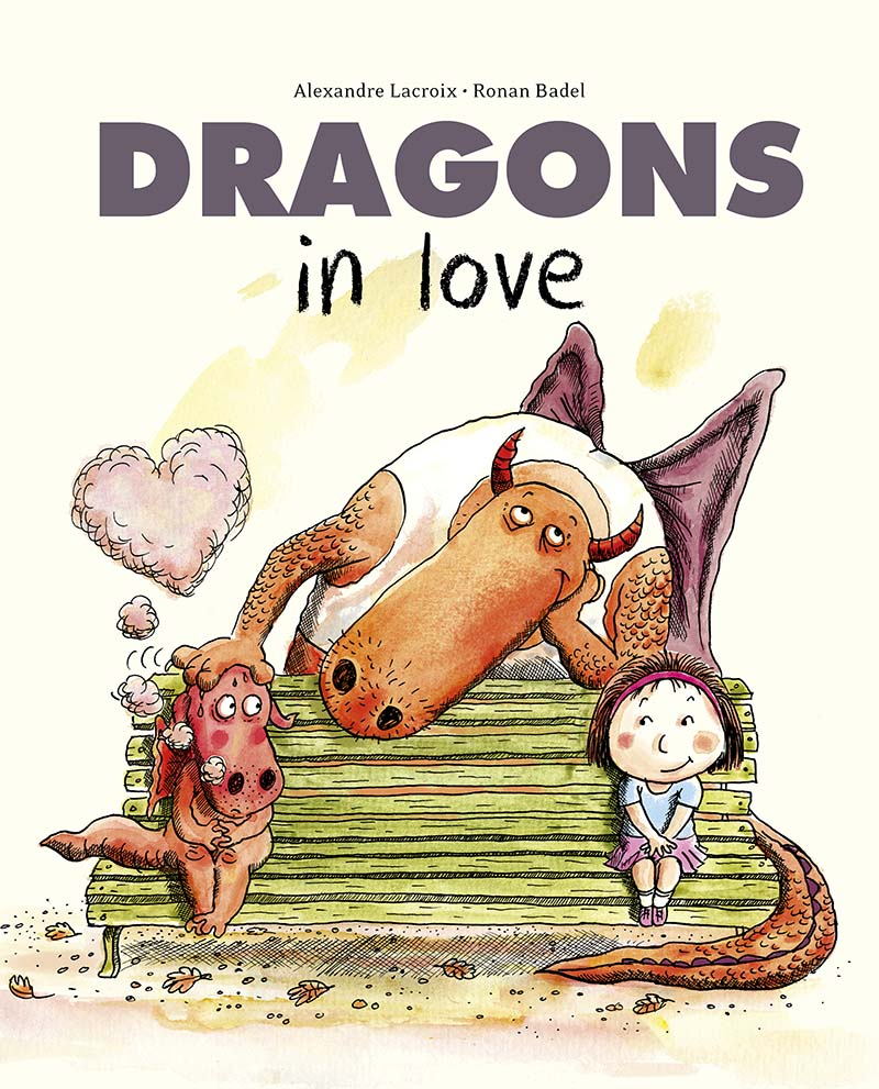 Dragons in Love - Jacket
