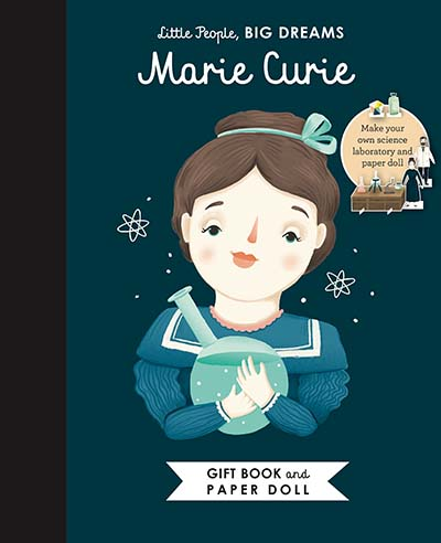 Little People, BIG DREAMS: Marie Curie Book and Paper Doll Gift Edition Set - Jacket