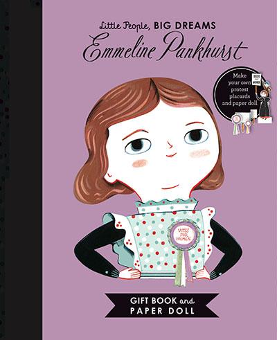 Little People, BIG DREAMS: Emmeline Pankhurst Book and Paper Doll Gift Edition Set - Jacket