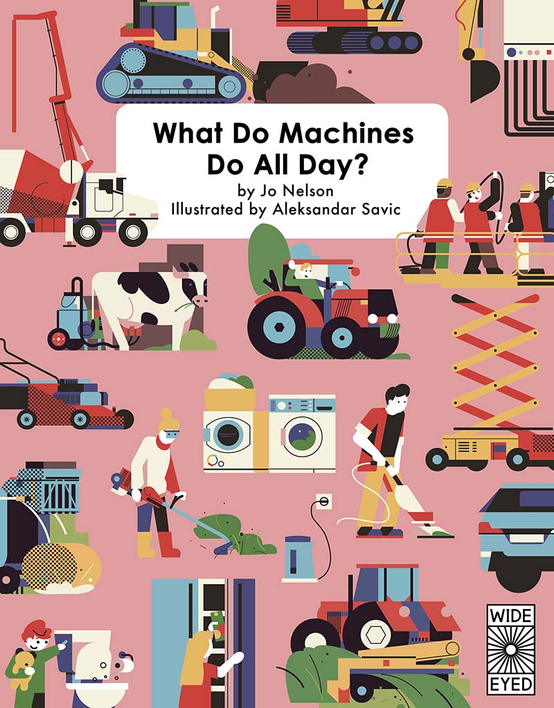 What Do Machines Do All Day - Jacket