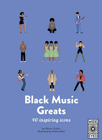 40 Inspiring Icons: Black Music Greats - Jacket