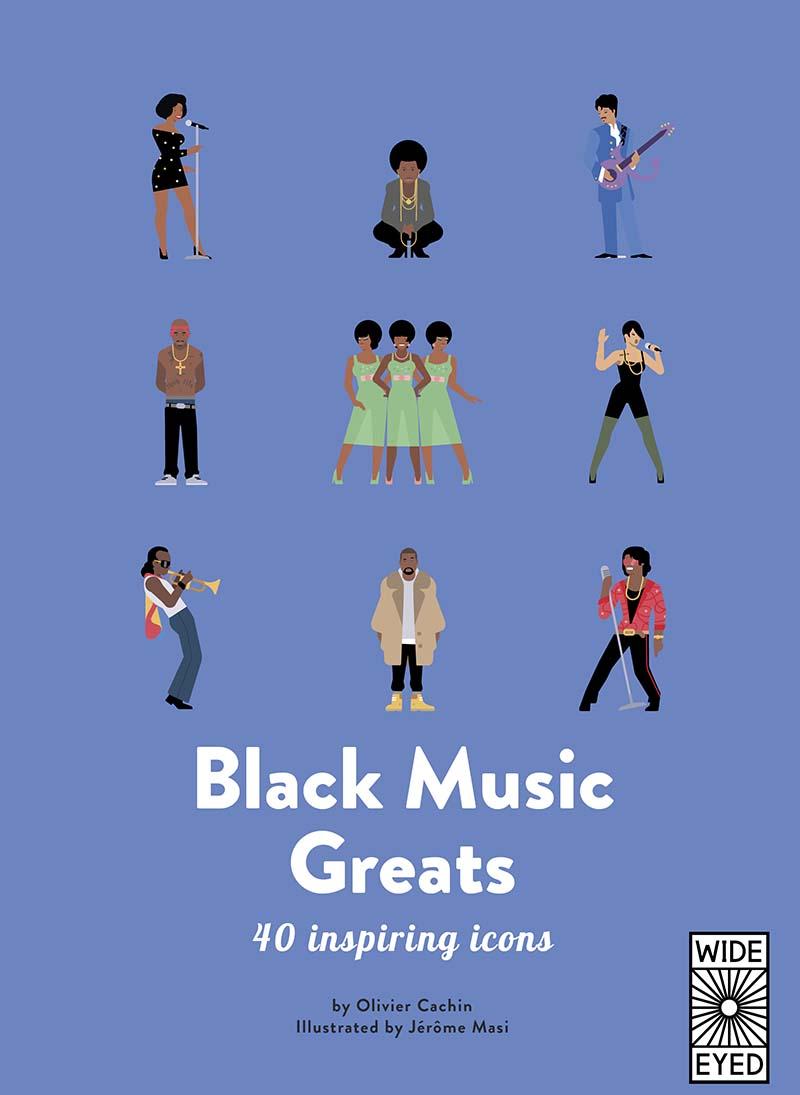 40 Inspiring Icons: Black Music Greats - Jacket