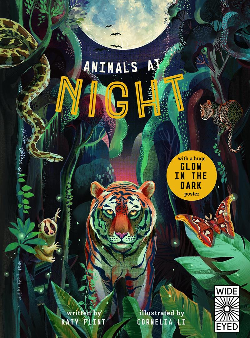 Glow in the Dark: Animals at Night - Jacket