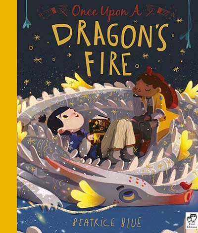 Once Upon a Dragon's Fire - Jacket