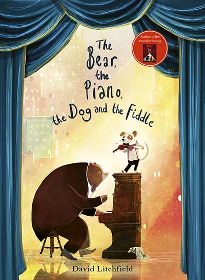 The Bear, The Piano, The Dog and the Fiddle - Jacket
