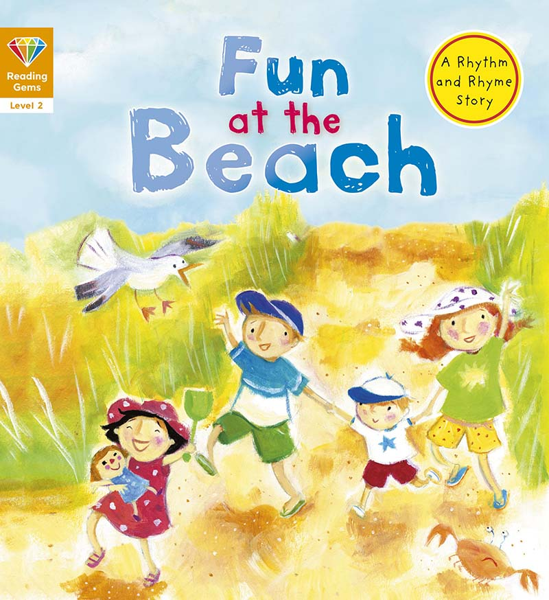 Reading Gems: Fun at the Beach (Level 2) - Jacket