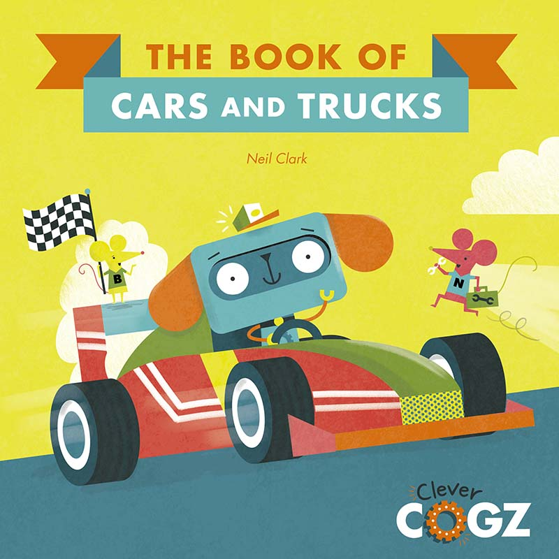 The Book of Cars and Trucks - Jacket